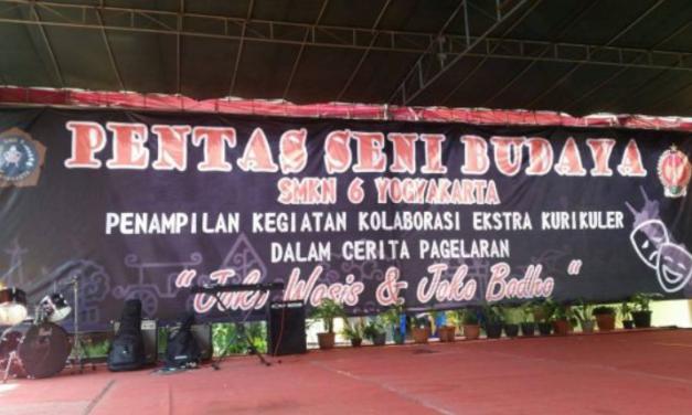 Pagelaran seni budaya di SMKN 6 Yogyakarta