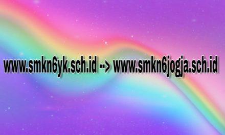 Perubahan Alamat Domain Website Sekolah