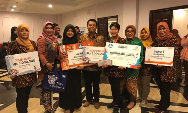SMKN 6 Yogyakarta Juara I dan III LKS Tingkat Nasional