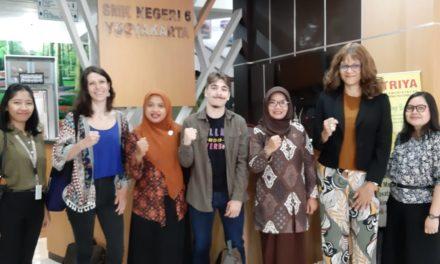 Kunjungan dari IFI (Institut Francais Indonésie) Yogyakarta