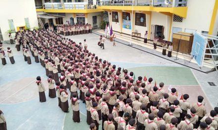 Upacara Penerimaan Tamu Ambalan Jenderal Ki Ageng Serang & Jenderal Sudirman