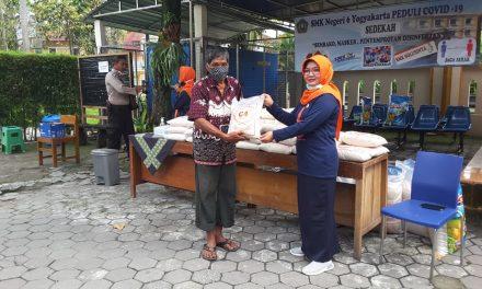 SMKN 6 Yogyakarta Peduli Covid-19