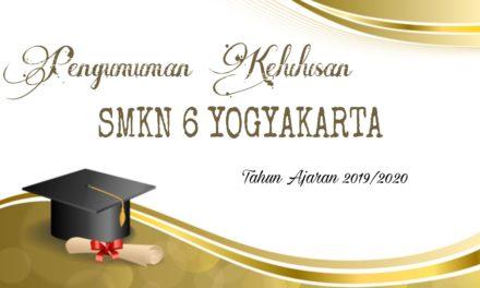 Pengumuman Kelulusan Tahun Ajaran 2019/2020