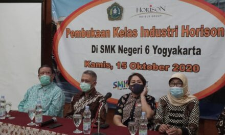 Launching Kelas Industri Horison di SMKN 6 Yogyakarta