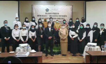 Pelaksanaan Belajar Praktek Kelas Industri di Hotel Ultima Riss Horison Yogyakarta